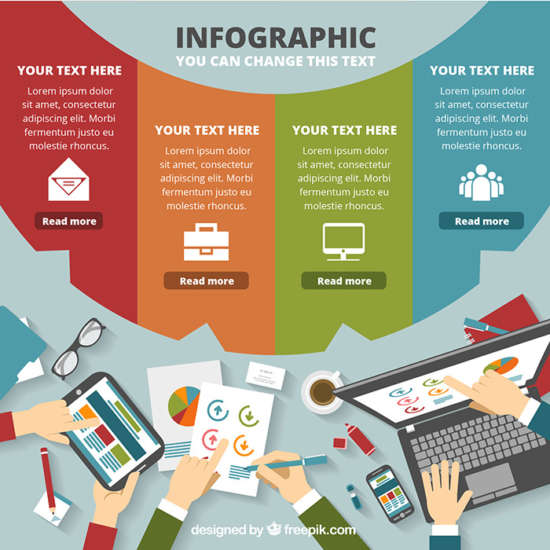 70 Free Infographic Templates PSD, EPS  AI Ginva