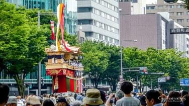 ofune boko procession gion festival kyoto japan