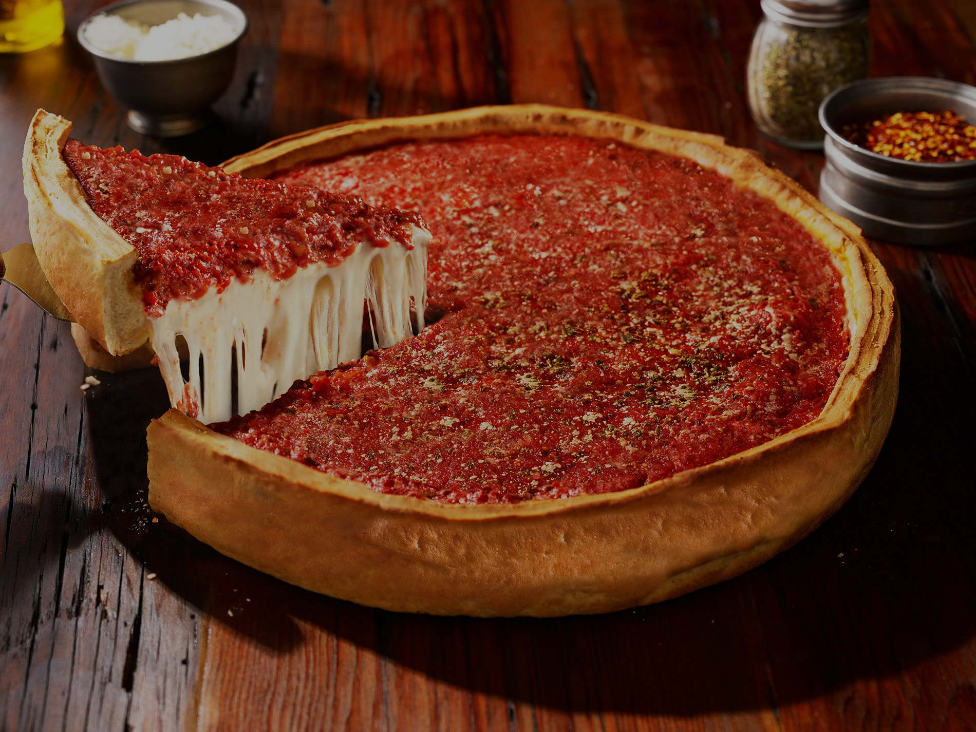 Giardino Prices Chicago S Famous Stuffed Deep Dish Pizza Giordano S