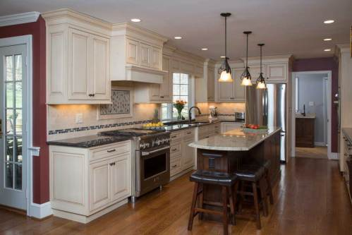 Medium Of Plain And Fancy Cabinets