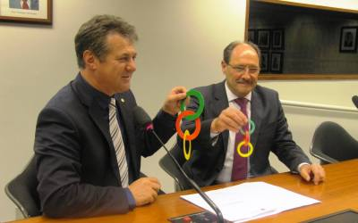 Governador Sartori pede apoio à Bancada Gaúcha