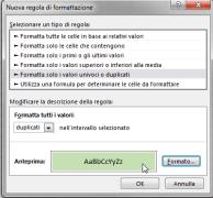 Excel: confrontare il contenuto di due colonne 3