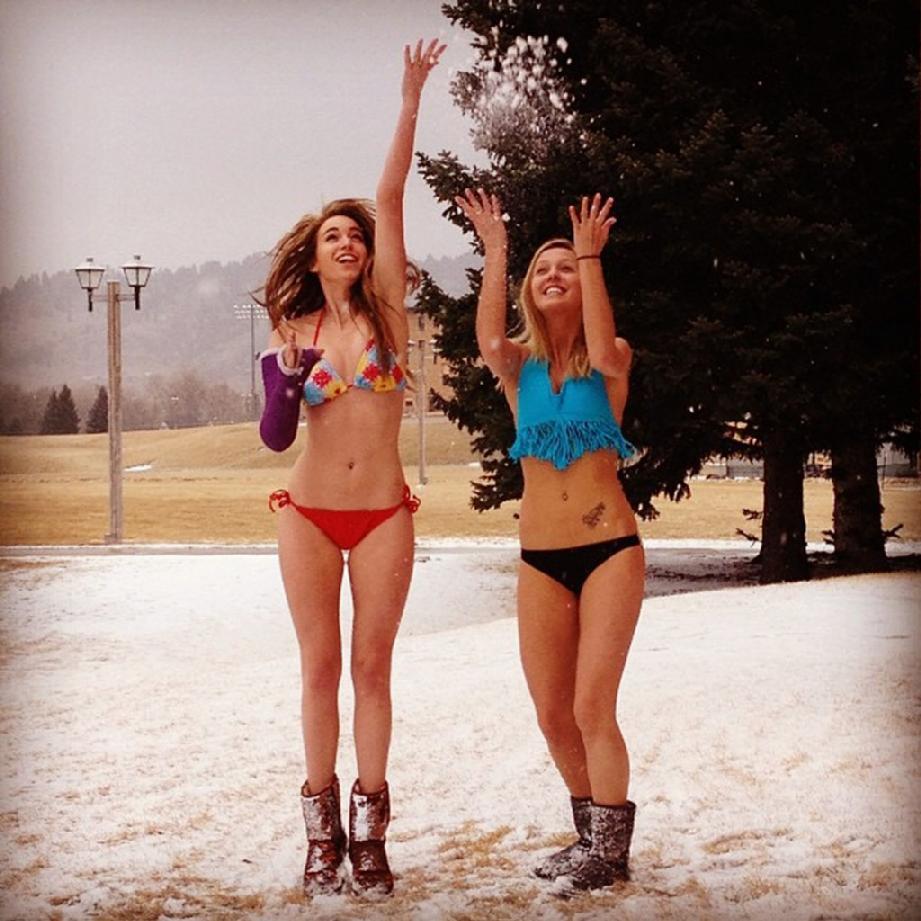 Snow Bikini