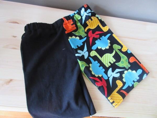 Dino-tastic shorts