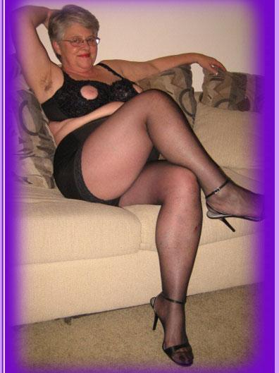 old grannies in girdles