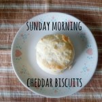 Sunday Morning Cheddar Biscuits