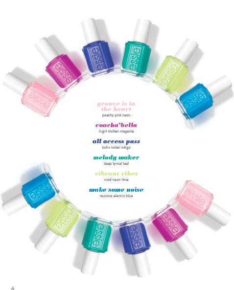 Essie Neon Collection 2015