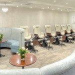 Manicure time at Elmwood Spa