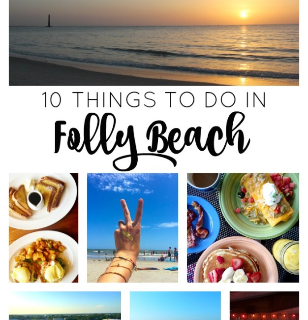 10 Things to Do in Folly Beach