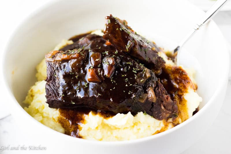 How to Make Instant Pot Short Ribs - Girl and the Kitchen