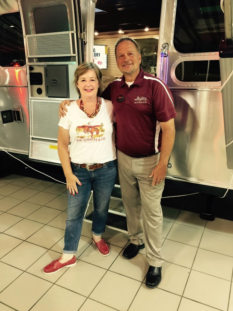 I will be chatting with my friend Mike Harlan from Haydocy Airstream in Columbus, Ohio on what's new in the industry and upcoming Camper College events.