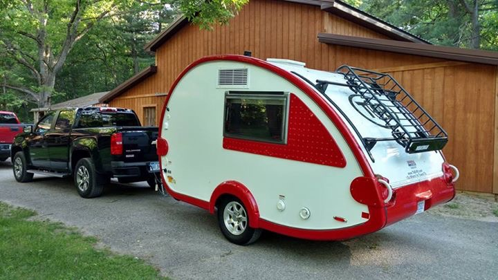 New Michigan Girl Camper Lorie's Tab is being readied for her first adventure!