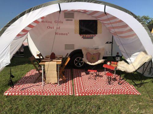 Medium Of Three Way Campers