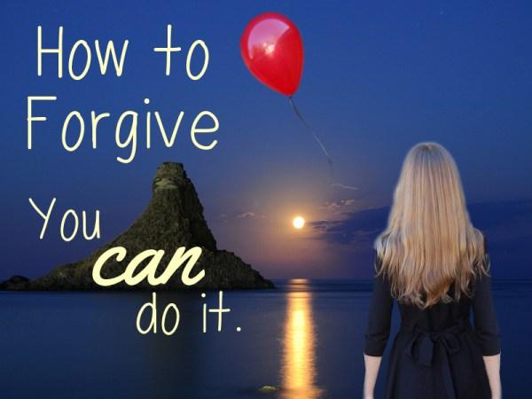 letting go   forgiveness