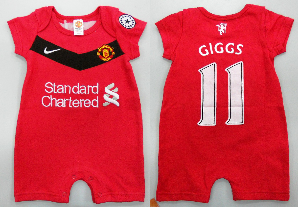 Baby Newborn Jumper Manchester United Baby Clothes Girl Gloss