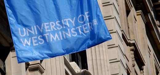 university-of-westminster-blue-flag