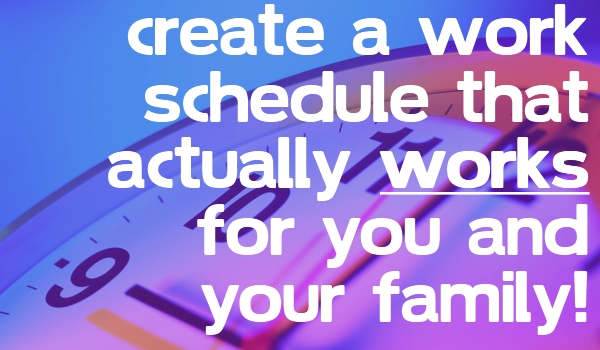 create your own schedule - Ozilalmanoof