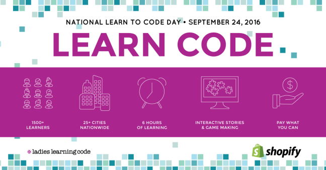 National Learn to Code Day Montreal 2016