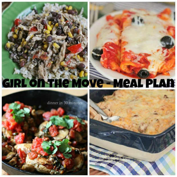 Week One Meal Plan | Girl on the Move Blog