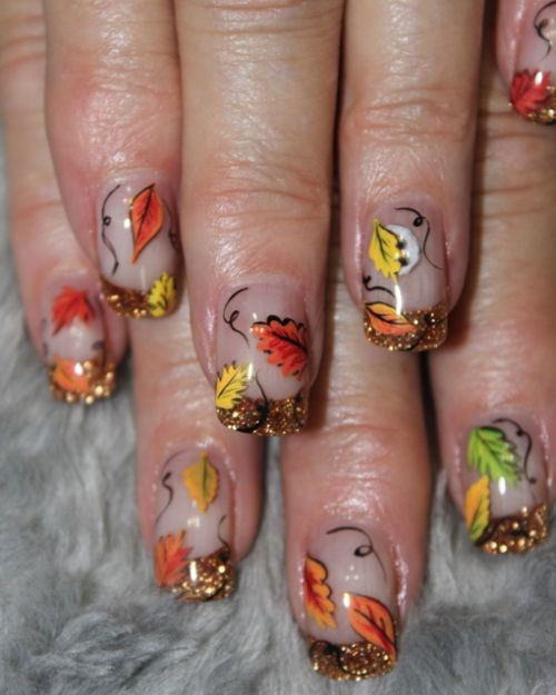 Latest Fall Nail Art Designs, Trends & Ideas For Girls