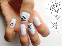30 Beautiful Diamond Nail Art Designs | Diamond Nails ...
