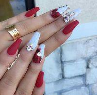 30 Beautiful Diamond Nail Art Designs   Diamond Nails ...