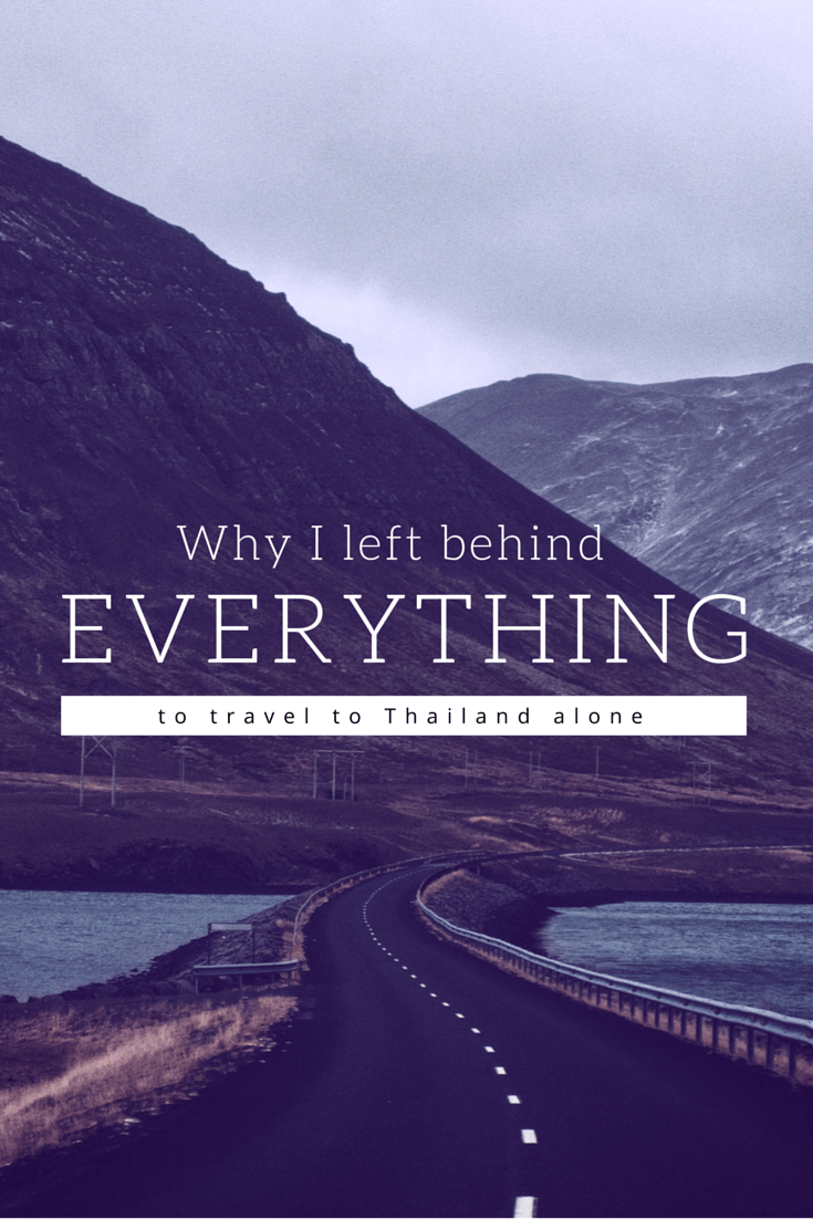 Why I'm leaving everything to travel