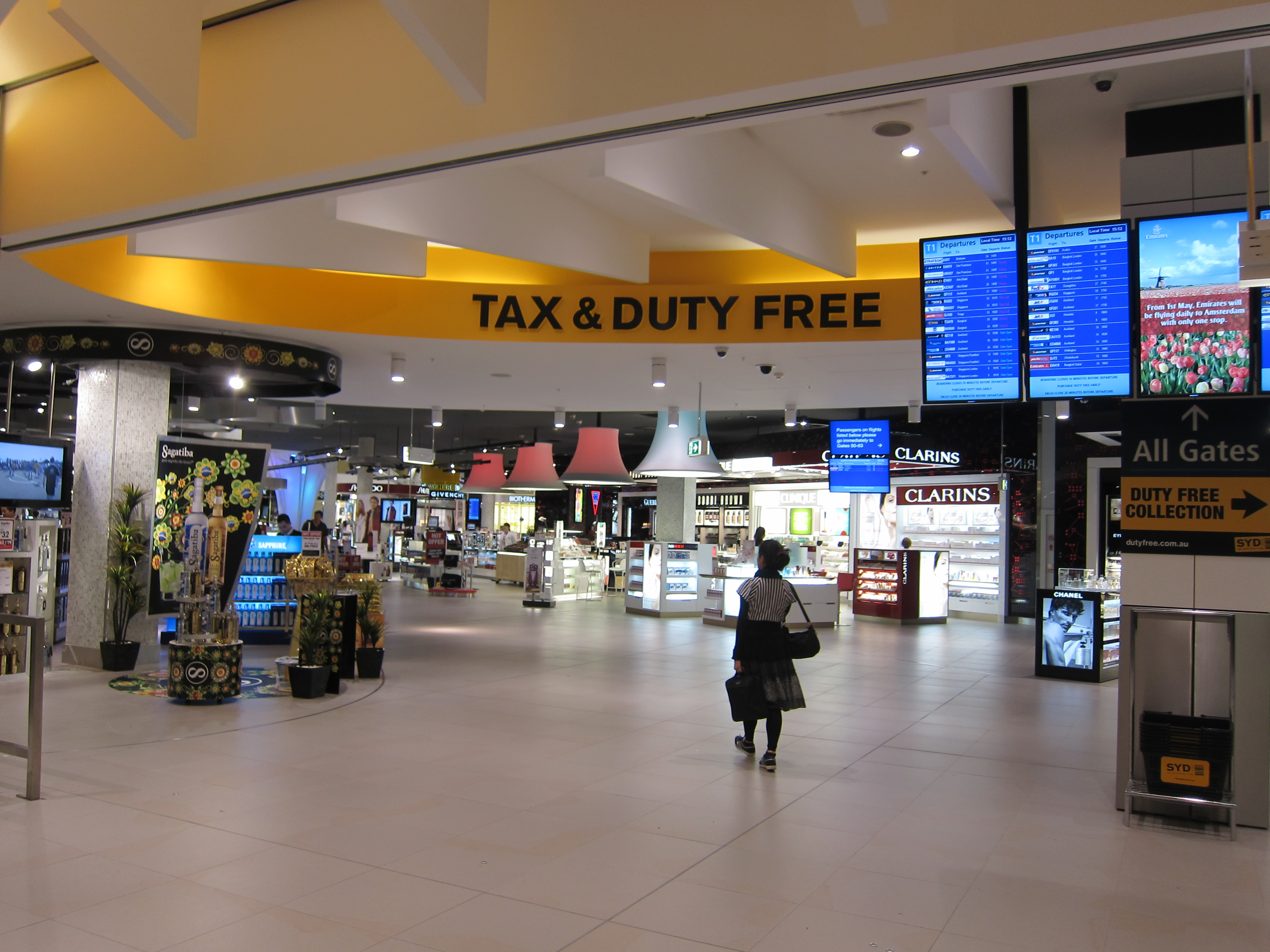 Sydney Airport Shops Two Months In Working Woman Girl Unmapped