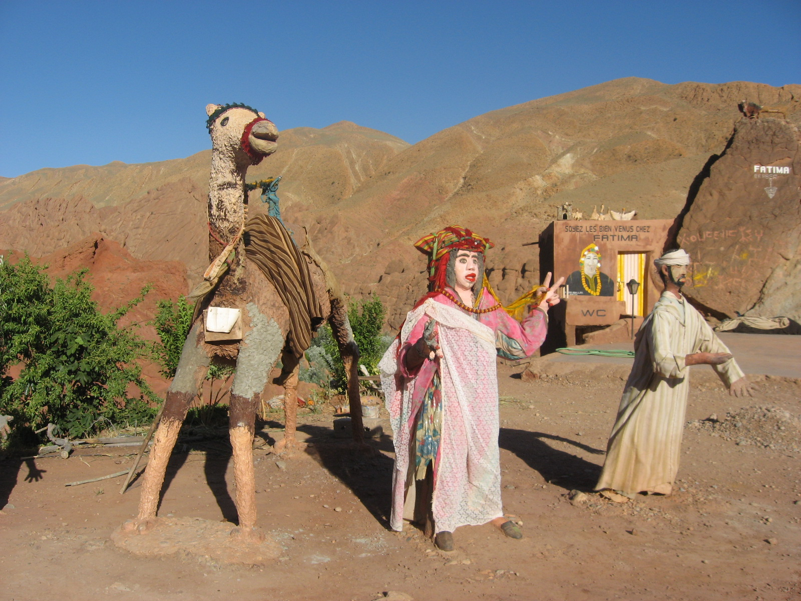 Atlas Statues For Sale Weird And Wonderful Things Morocco Girl Unmapped