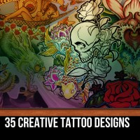 32 Creative Tattoo Designs