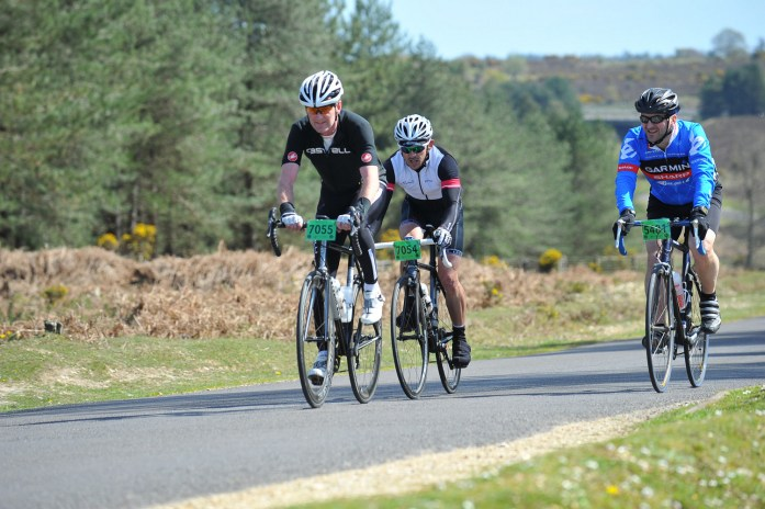 On the 58 Aeros and my Stoemper Taylor riding the New Forest sportive recently