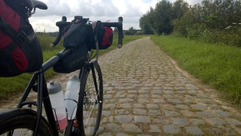 A photo from Jame's solo ride to Eurobike last year. Better than flying!