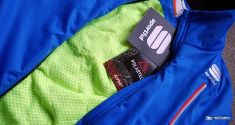 Polartec Alpha is the key fabric to this intriguing jacket