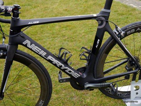 A terrific high modulous carbon frame, that's fast, fun and comfortable