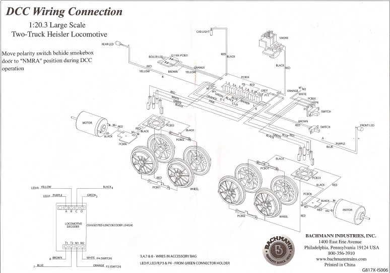 bachmann decoder wiring diagram