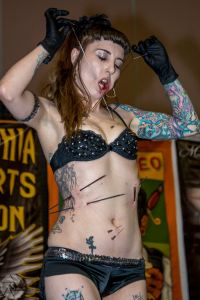 Philadelphia Tattoo Convention 2016 | Gisella Rose | Villain Arts