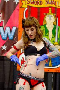 Wildwood Tattoo Expo 2014 | Villain Arts | Gisella Rose