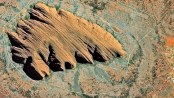 SPOT-6 - Uluru (Ayers Rock), Australia