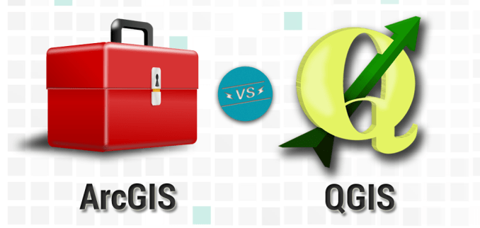 The Differences Between QGIS and ArcGIS