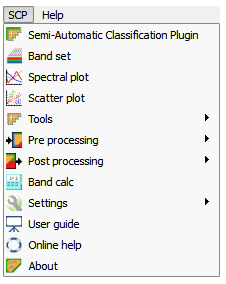 Semi Automatic Classification Plugin