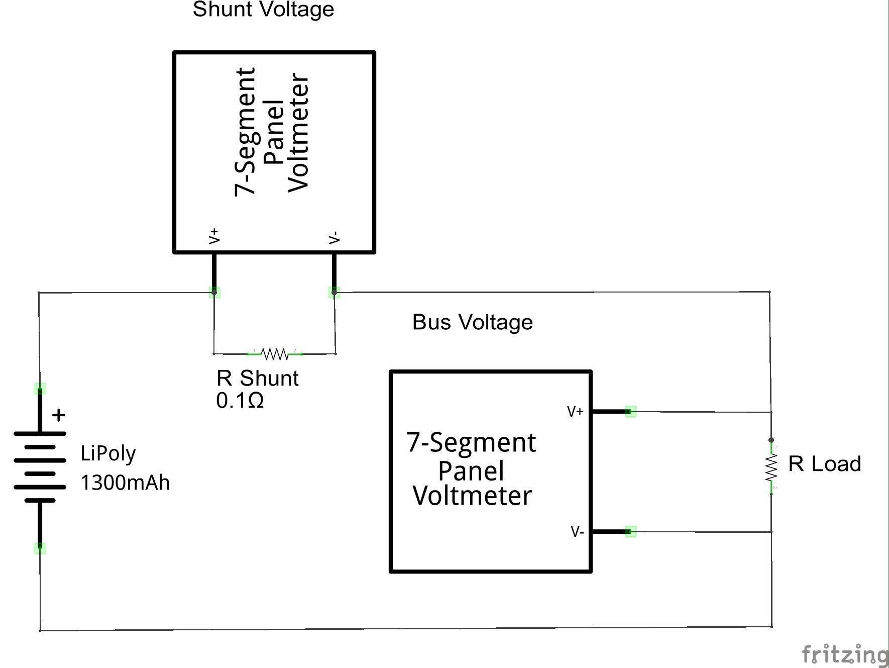 INA219 DC Meter