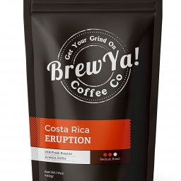 Costa Coffee Arabica Robusta Costa Rica Eruption Medium Roast Whole Bean Coffee 16oz