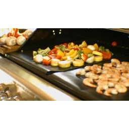 Gas Grill Heavy Duty Non Stick Grill Mat Healthy Oven Liner