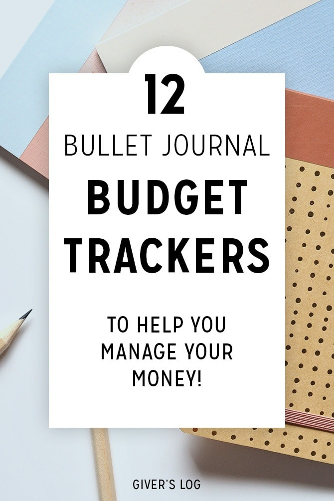 12 Bullet Journal Budget Trackers to Help Manage Your Money