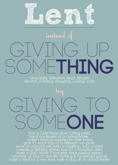 Giving during Lent | Give Today