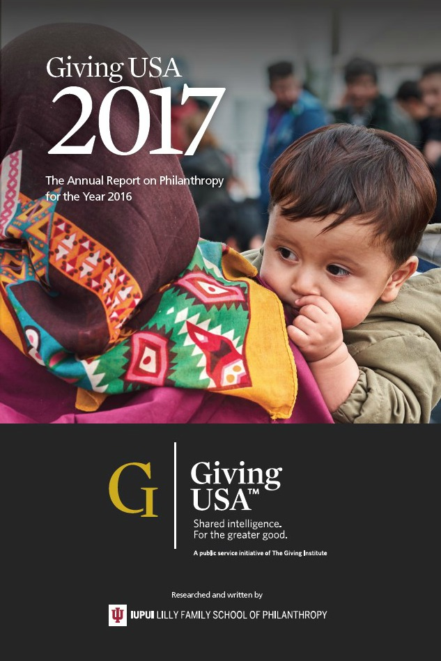 Giving USA 2017 Total Charitable Donations Rise to New High of