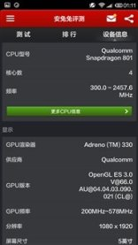 Xiaomi Mi4 Antutu