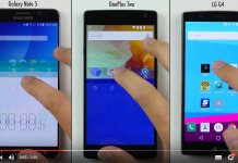 Samsung Galaxy Note 5 vs OnePlus 2 vs LG G4