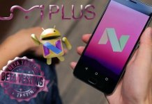 UMi Plus Android N beta test