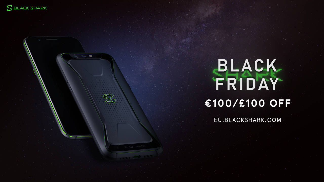 Black Friday Rabatt Black Shark Für Black Friday Bis Zu 100 Rabatt Gizchina It